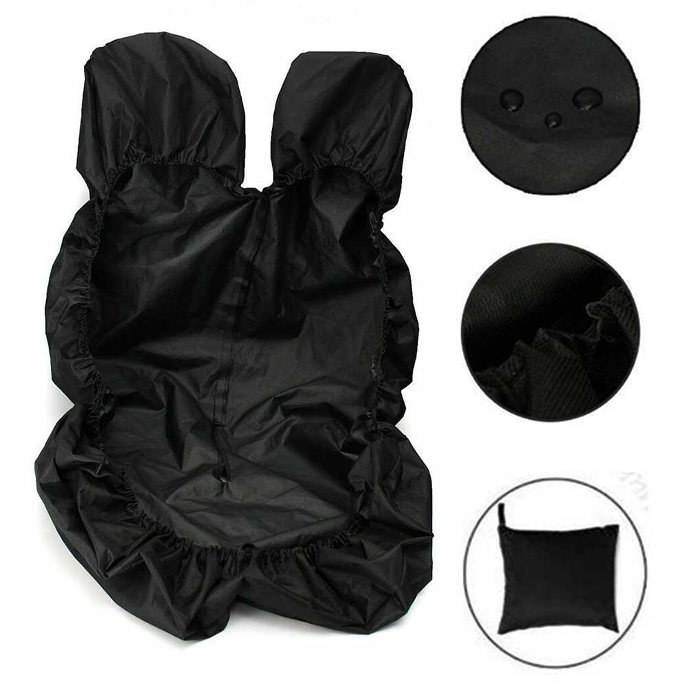 VAN SEAT COVERS BLACK HEAVY DUTY WATERPROOF 2-1 FORD TRANSIT CUSTOM VAN NEW