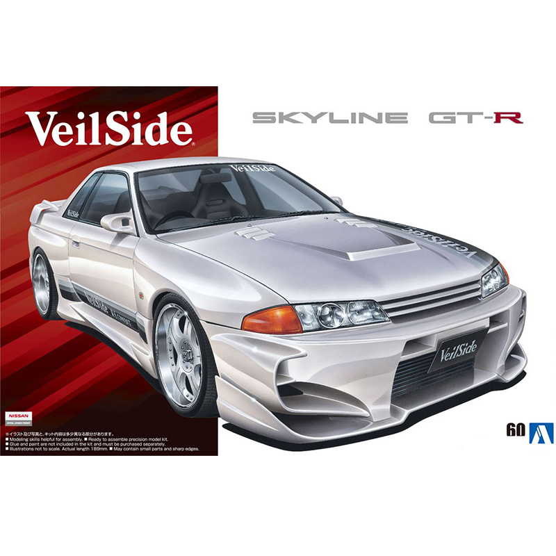 Assembly Model 1/24 VeilSide BNR32 Skyline GT-R Sedan 05709