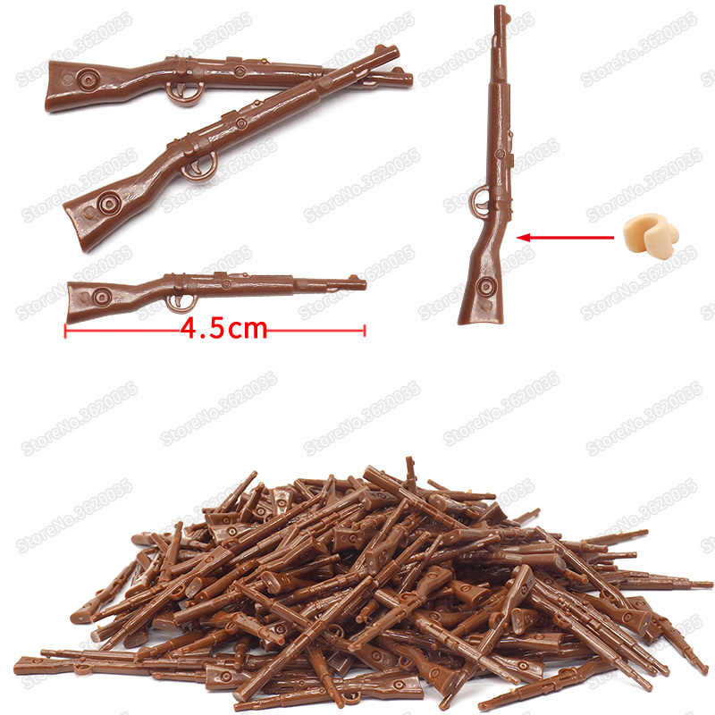 Legoinglys Military 98k German Standard Weapons Building Blocks Model ww2 Figures Soldier Gun Moc PUBG Child Christmas Gift Toys