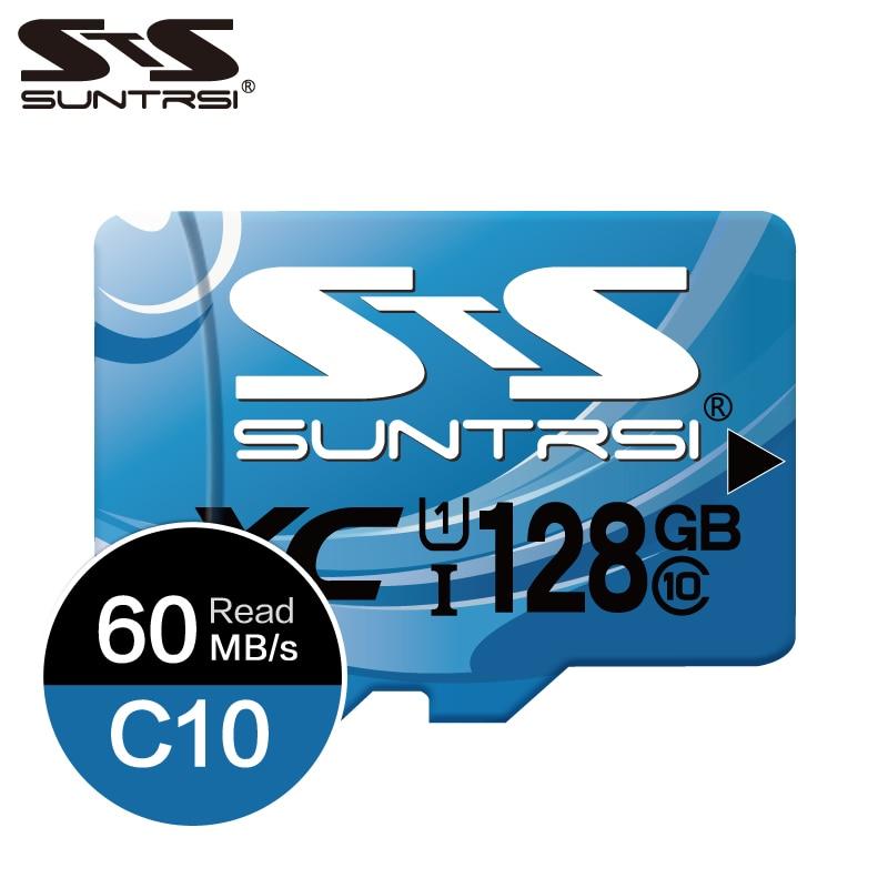 Suntrsi Microsd SD 32gb Memory Card High Speed Class 10 64gb Micro SD TF Memory Card 128gb TF Card For Smartphone Mini SD Card