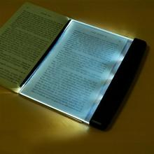Płaska lampka nocna do czytania książki
