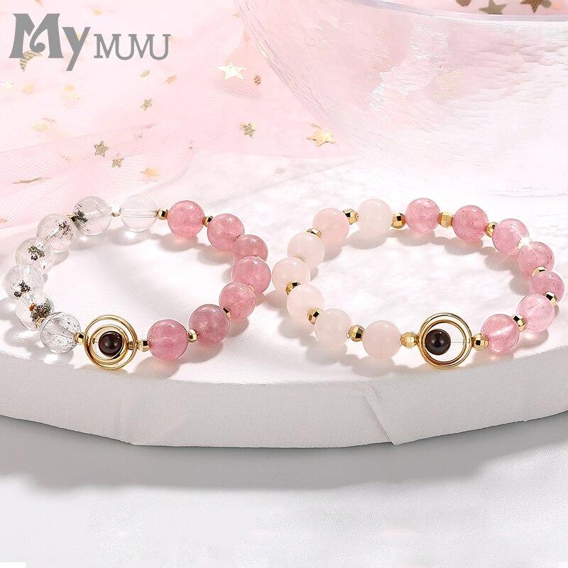 Yellowplumflower wintersweet wristband bracelet ceramic strawberry
