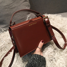 ETAILL 2019  Fashion Wine Red Women Bag PU Leather Handbags Shoulder Bag Small Flap Crossbody Bags for Women Messenger Bags phedera brand fashion small summer flap bag for women pu leather female crossbody bags pink red lady messenger bag 2017 new