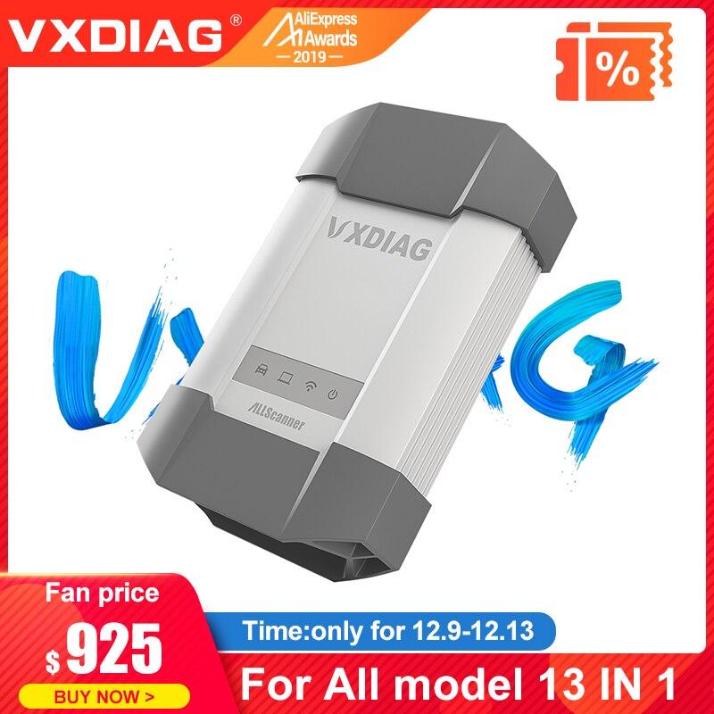 VXDIAG ALLSCANNER pour tous les modèles 13 en 1For BMW ICOM A2 A3 pour Toyota it3 HDS C6 pour Benz pour Volvo Dice 2014D outil de Diagnostic