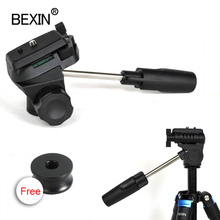 BEXIN Ball head universal three dimensional fluid handheld video shooting panoramic tripod head for dslr camera monopod tripod