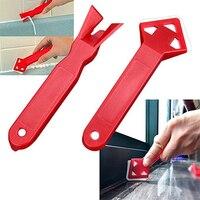 2 In 1 Siliconenkit Remover Tool Kit Schraper Breeuwen Schimmel Praktische Floor Cleaner Tegel Cleaner Mini Handgemaakte Gereedschap