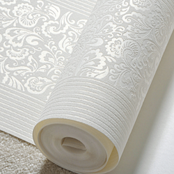 Papier peint européen 3D Vertical | Non-tissé épaissi, rayures verticales, pour chambre à coucher et salon, mur de fond de TV