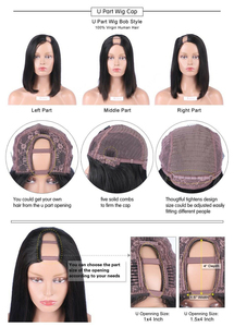 Image 5 - Luffyhair 250% 密度アフロ変態カーリーuの部分かつらモンゴルレミー人毛uの部分かつらアフロのカール女性