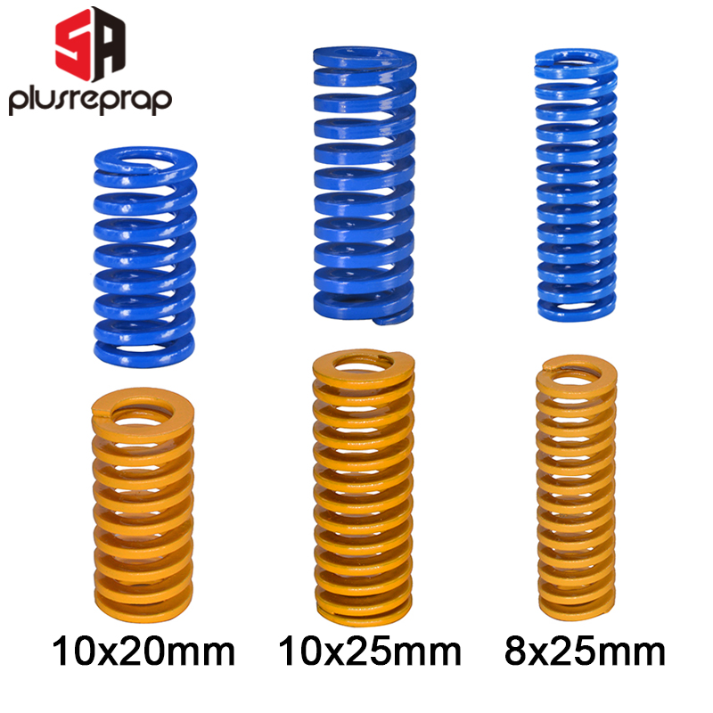 Heated Bed Springs Die Light Load Compression Spring DIY Extrusion Spring for 3D Printer CR-10 10S S