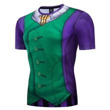 2019 Summer Animation Dragon Ball T Shirts 3D Shirt Men Super Saiya Broly Broli Print Tee Homme Mens T-shirt Tops