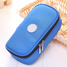 Insulin Cooler Travel Case Medication Diabetic Insulated Organizer Portable Cooling Bag For Insulin Pen And Diabetic Supplies