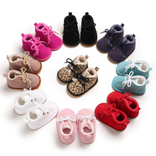 Baby Autumn Winter Shoes Kid Boy Girl Rubber Cotton Cloth First Walker Anti-slip Soft Sole Toddler Baby Shoes Baby Zapatos