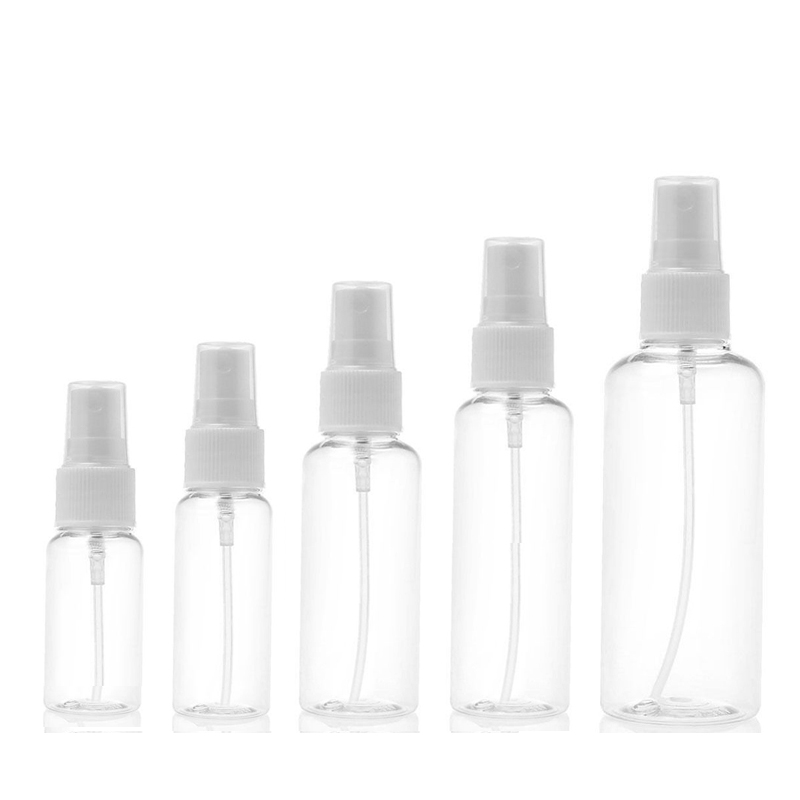 5pcs Spray Bottle 10ml 30ml 50ml 60ml 100ml Empty Perfume Bottles Refillable Mist Pump Perfume Atomizer Travel Accessories