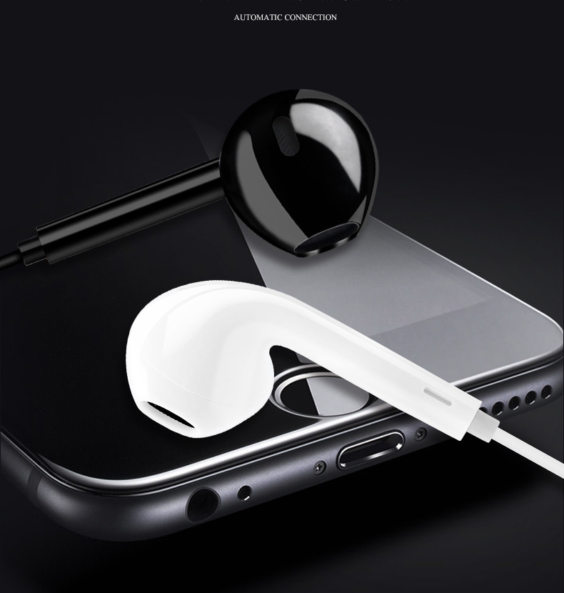 <font><b>S6</b></font> Wireless Earphones Neckband Line-controlled <font><b>Bluetooth</b></font> Earphone With Mic call volume control Sport Gaming Headse for IPhone image