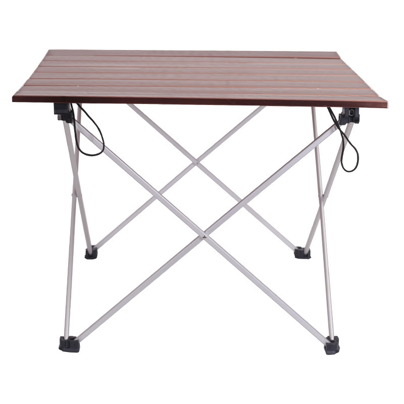 Ultralight Aluminum Alloy Table Outdoor Camping Table Portable Folding Table Camping Self-Driving Table