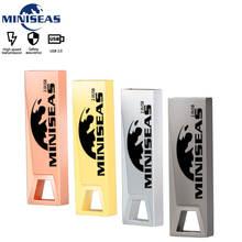 Miniseas Sct09 Usb Flash Drive 4GB 8GB Max Power metal Pendrive 16GB 32GB 64GB Memory USB Stick Pen