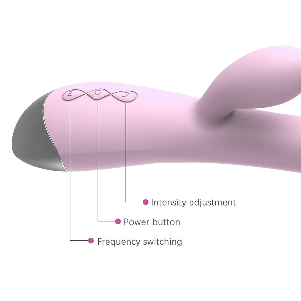 Femmes 10 vitesses g-spot vibrateur gode vibrateur Clitoris masseur Silicone femme masturbateur Sex Toys pour femmes livraison directe 1