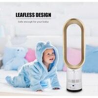 16 Inche cooling fan Leafless electric fan home desktop bladeless air purification remote contro fan low noise powerful shaking