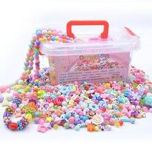 1000 sztuk DIY wykonane ręcznie wyszywane koralikami zabawki ze schowkiem kreatywna dziewczyna biżuteria bransoletka tworzenia biżuterii zabawki edukacyjne dzieci prezent