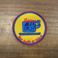 Personalised Logo Custom Made Patch Badges for promotional gift giveaway Embroidered With Fastner 06