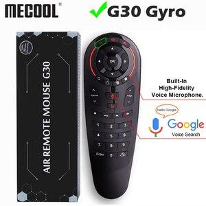 Image 1 - Universale G30 2.4G del Giroscopio Wireless Air Mouse 33 Tasti di Apprendimento IR Intelligente di Voce di Controllo Remoto per Android TV Box TV vs G10 G20