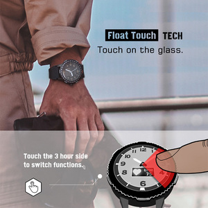 Image 5 - NORTHEDGEผู้ชายนาฬิกาดิจิตอลทหาร 50Mกันน้ำกีฬาHeart Rate Monitorบลูทูธสายรัดข้อมือ