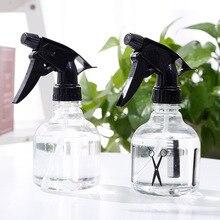 Nuevo plástico botella de agua con pulverizador rociador de niebla de pelo de estilo salón de peluquería