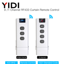 RF433 Curtain-Switch Blinds Roller Remote-Control Wifi Ce for Module Battery-Powered