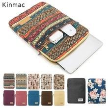 2020 брендовая сумка для ноутбука Kinmac 12, 13, 14, 15, 15,6 дюймов, Женский Мужской чехол для MacBook Air Pro 13,3, ноутбук, Прямая поставка