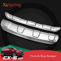 자동차 앞 리어 범퍼 커버 장식 스트립 가드 몰딩 보호 액세서리 마즈다 CX5 CX-5 2017 2018 2019 KF