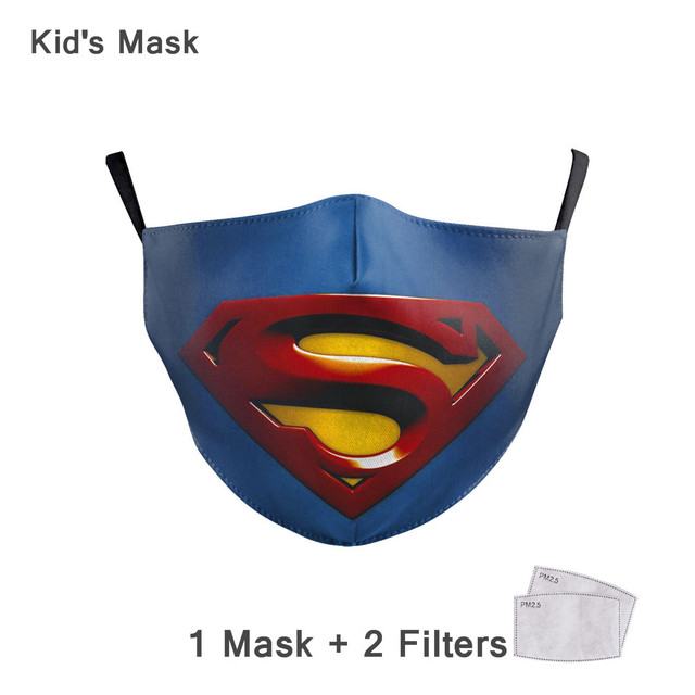 Face Mouth Mask Reusable Breathable Cotton Protective Children Kid Cartoon Cute PM2.5 Anti-Dust Mouth Face Mask 4