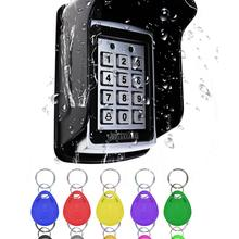 Access-Control-Keypad Fobs RFID Metal Waterproof 1000 with Users 10-Key for