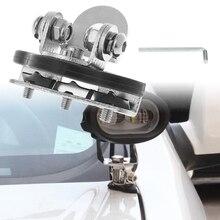 Pillar Hood Clamp Holder Universal Car LED Work Light Bar Mount Bracket Offroad