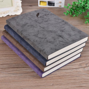 A5 Soft Leather Notepad Creative Stationery Book Student Diary Beautiful Notebook Office School Stationery Supplies Gifts