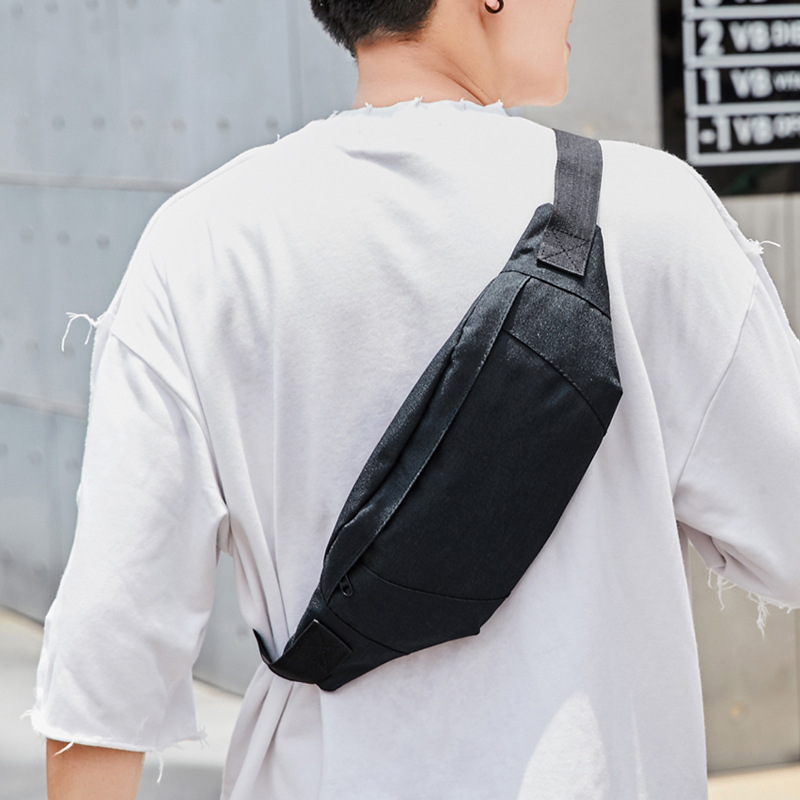 Outdoor Sports Multi-functional Wallet Men's Trend Chest Pack Men Korean-style Running Casual Over-the-shoulder Bag Women's Wate