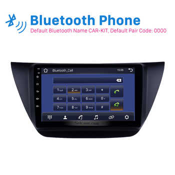 Seicane Android 9.0 9 inch 2Din Car Radio stereo GPS Navi Head Unit Player For Mitsubishi lancer ix 2006-2010 Including frame