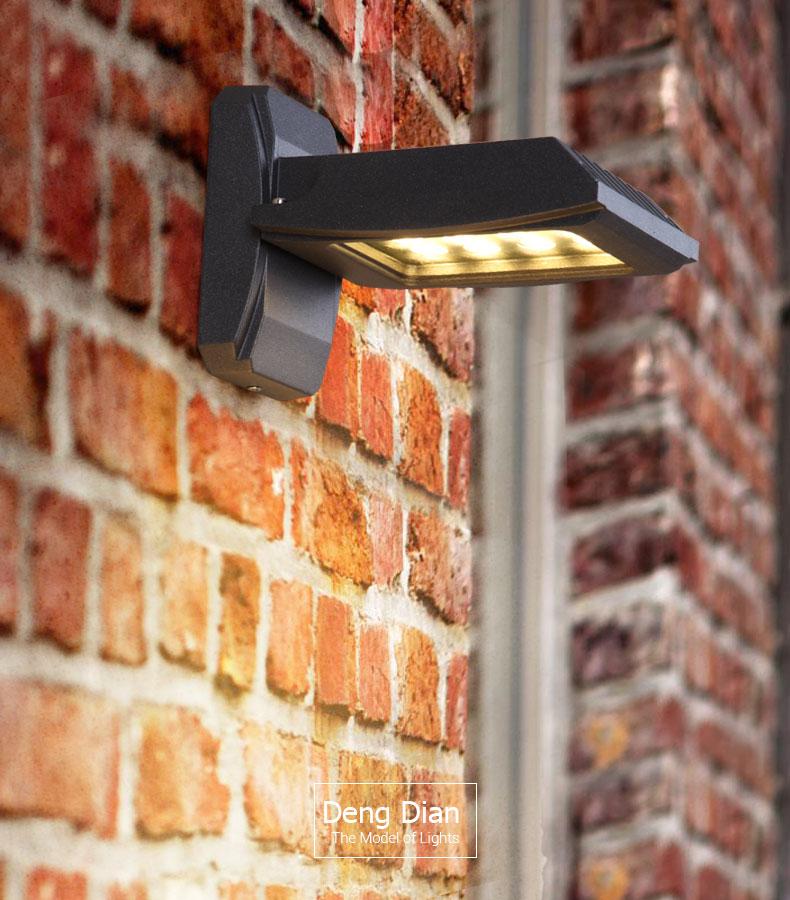 Ip65 conduziu a lâmpada de parede iluminação