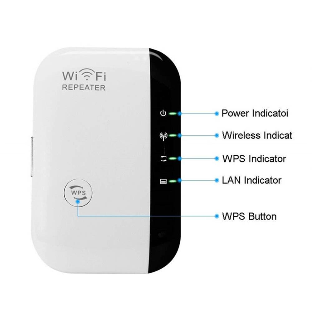 Wireless Wifi Repetidor Wifi Range Extender Router Wi-Fi Signal Amplifier 2.4G Wi Fi Repeater Access Point