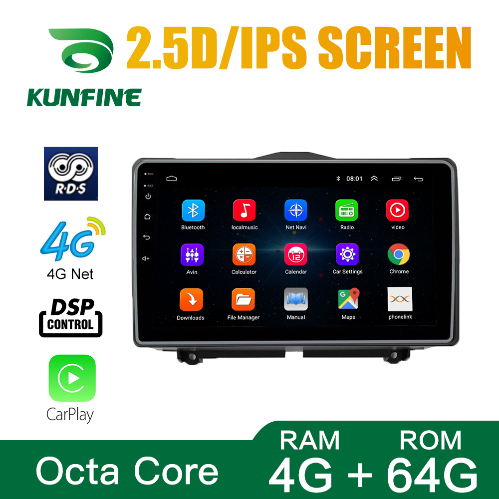 Car Radio For LADA Granta 2018 LHD Octa Core Android 10.0 Car DVD GPS Navigation Player Deckless Car Stereo WIFI Headunit image