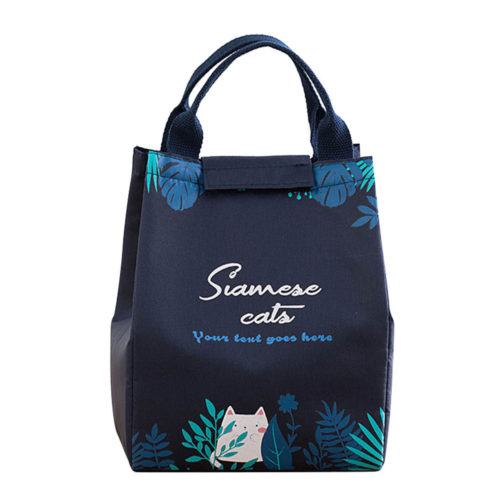 Lunch-Bag Office Insulated Tote School Portable for Outdoors Camping Student 15--18--24cm