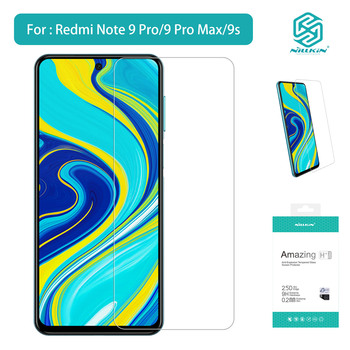 NILLKIN Accessaries Nice Anti-Explosion Tempered Glass High Quality Screen Protector For Redmi Note9 Pro Max 9s Simple Nice