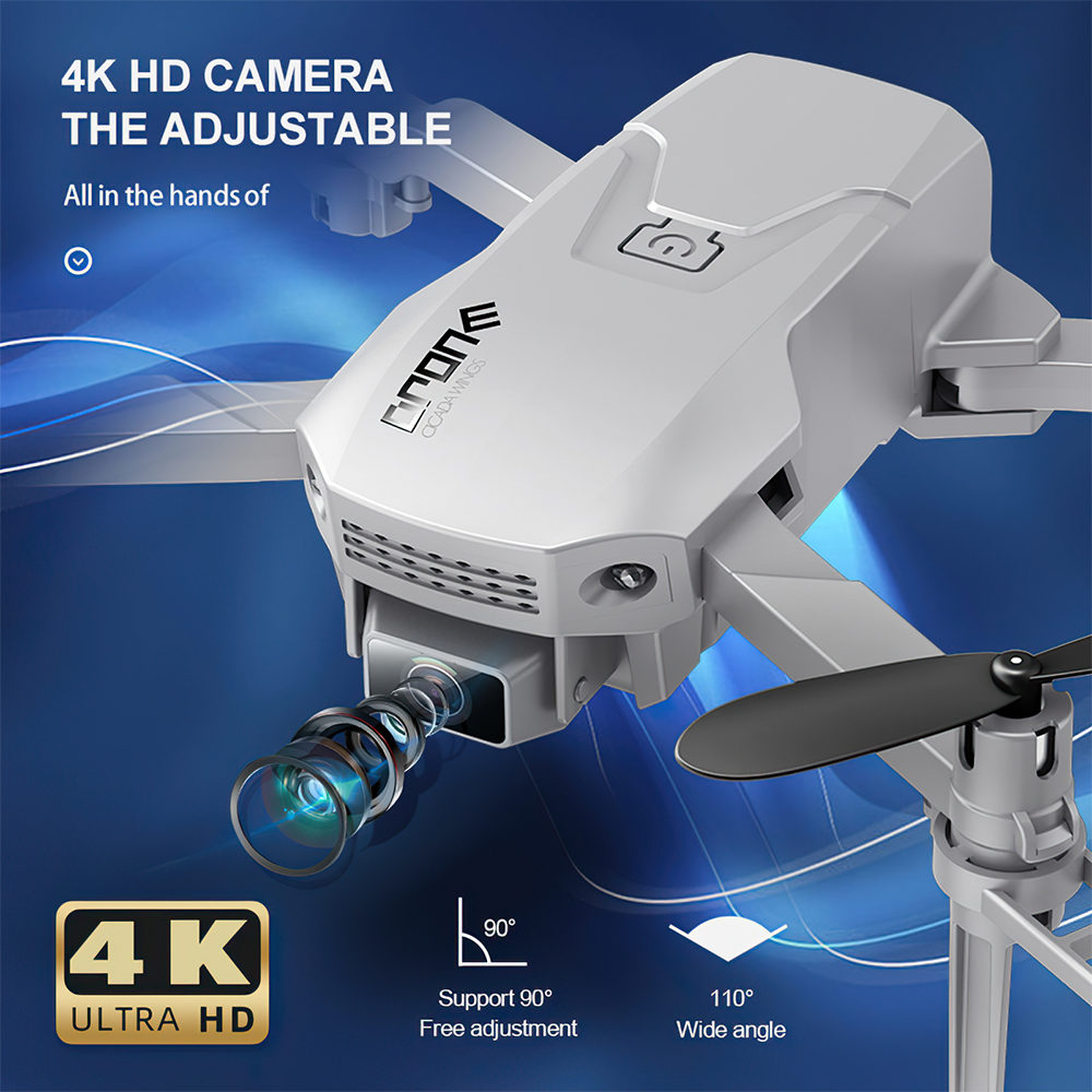 H876f428016ca4eb4b369e73980a562aeN - TRAVOR Mini Drone Foldable Drone With 4K HD Camera Quadrotor Wing Remote Control Plane Aircraft For Photography Video Shooting
