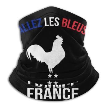 Allez Les Bleus camiseta Francia Bandana 3D cuello caliente suave máscara de...