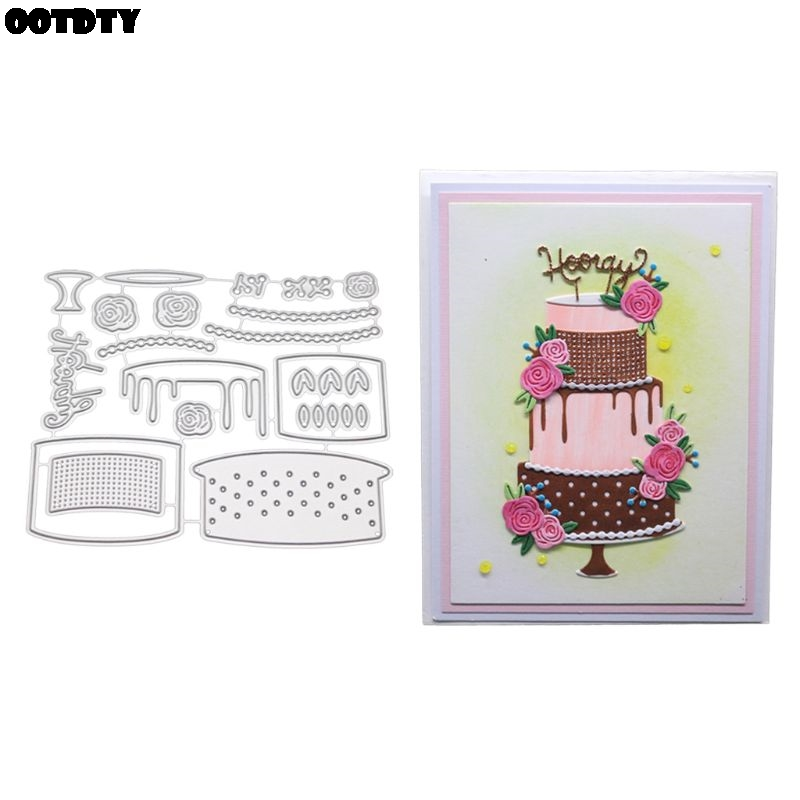 For You Metal Cutting Dies Stencil DIY Scrapbooking Stamp Paper Embossing Craft