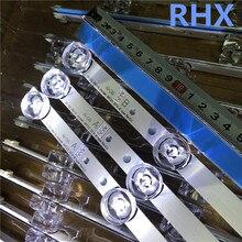 Barra de tira de LED para iluminación trasera 6LED de 590mm compatible con LG 32LB561V UOT A B 32 pulgadas DRT 3,0 32 A B 6916l 223a 6916l 2224A 100% nuevo