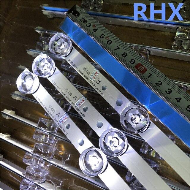 Nuovo 3 Pcs * 6LED 590 Millimetri Striscia di Retroilluminazione a Led Bar Compatibile per LG 32LB561V Uot Un B 32 Pollici drt 3.0 32 Ab 6916l 2223A 6916l 2224A