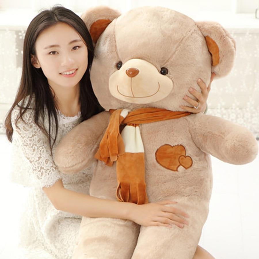Real Big Plush Stuffed Doll Toys for Girls Kawaii Toys Anime Plush Bear PP Cotton Plush/Nano Doll Japanese Plush Toys CC50MR