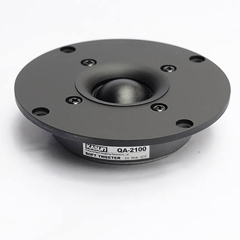 Original 4 Inch Silk Dome Fever Tweeter Ultra-Thin HiFI Speaker DIY Single Magnetic Speaker Unit 60W 8 Ohm QA2100 image