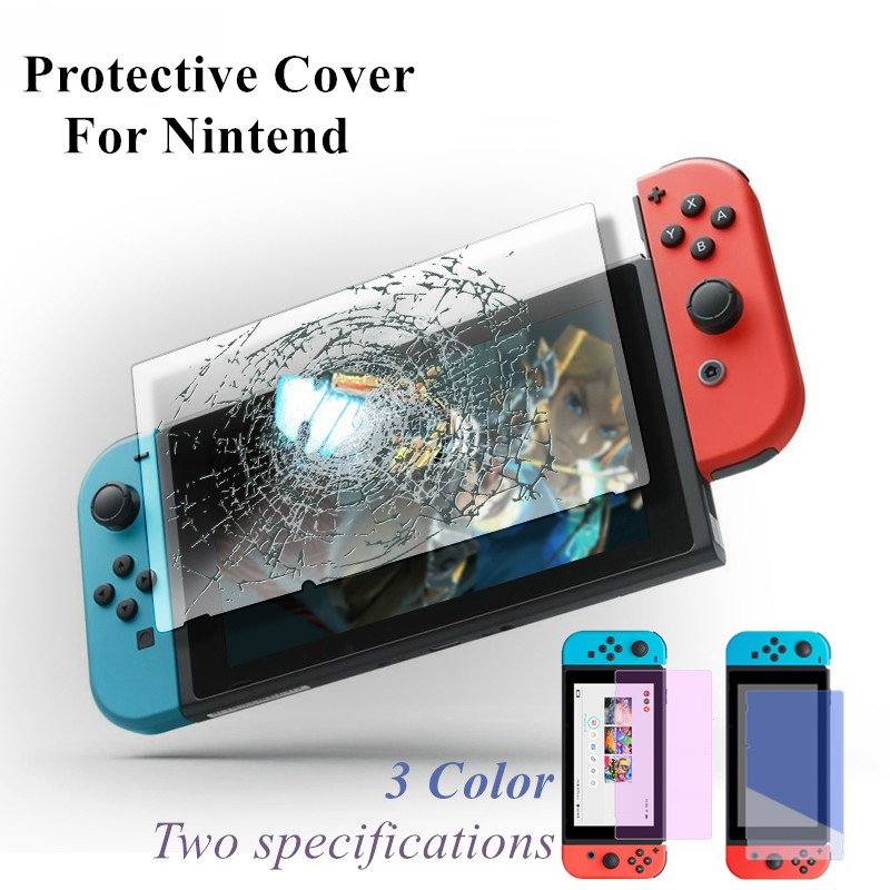 2020Tempered Glass Screen Protectos Anti-Scratch Protective Cover For Nintendo Switch NS Protection Skin For Nintend Switch Film