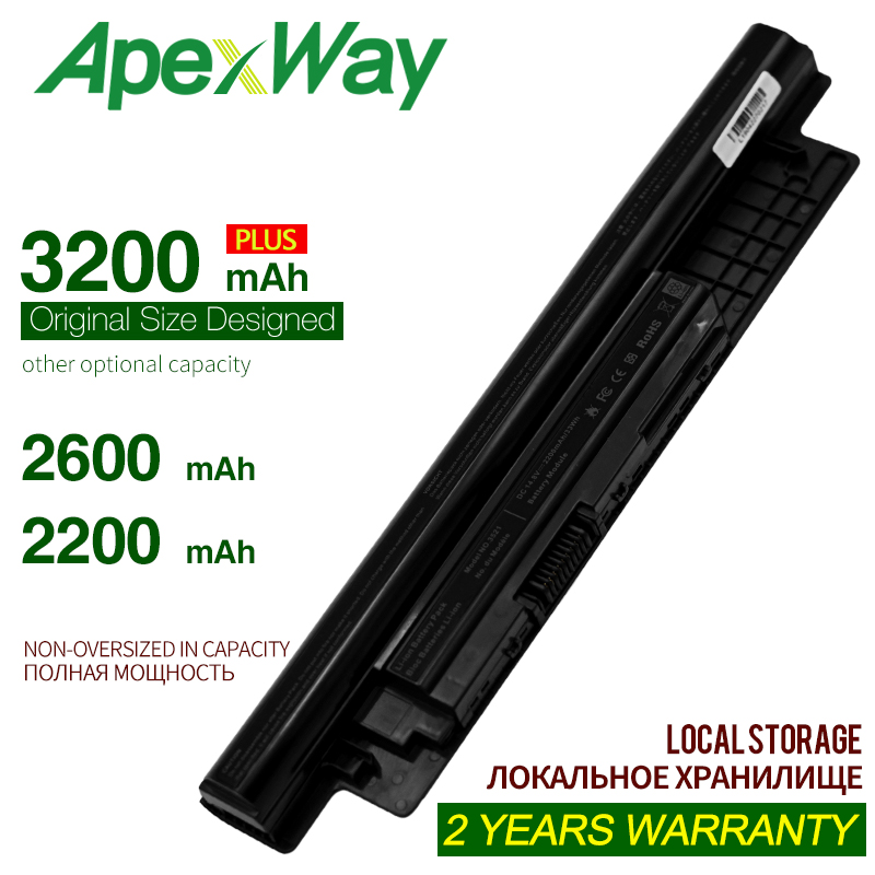 ApexWay Laptop Battery For <font><b>Dell</b></font> N121Y 6K73M XCMRD YGMTN For Inspiron 3721 3521 N3521 Series 3531 RP1F7 For Latitude 3440 <font><b>3540</b></font> image